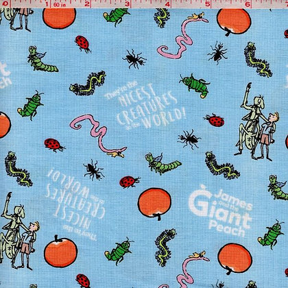 James and the Giant Peach Fabric by the Yard