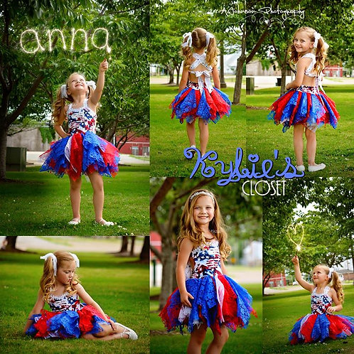 4th of July Patriotic Fairy Dress