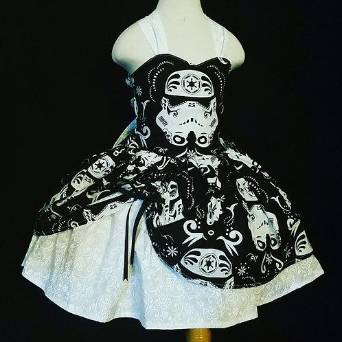 Storm Trooper Star Wars MiniBelle Dress