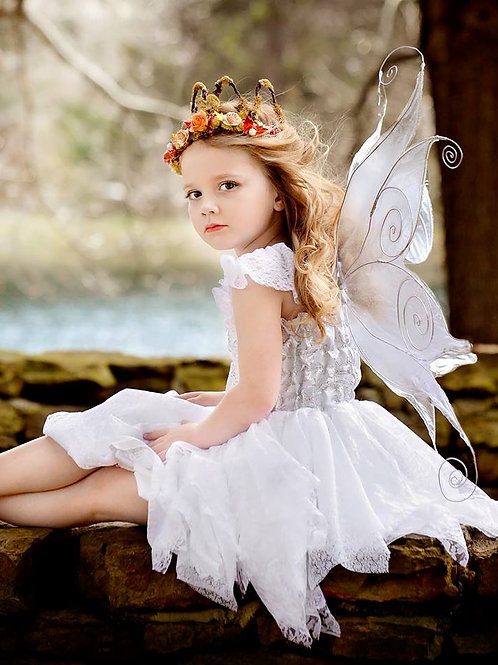White Princess Fairy Dress