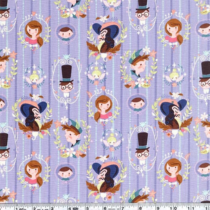 Neverland Periwinkle Fabric by the Yard