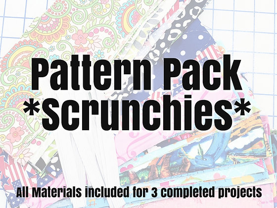 Pattern Pack - Scrunchies
