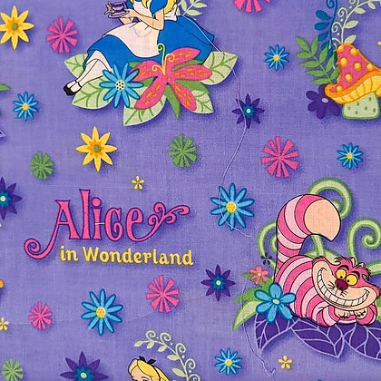 Alice in Wonderland Fabric by the Yard