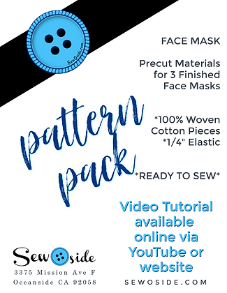Pattern Pack - Face Mask