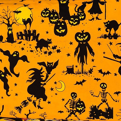 Spooky Shadows Fabric by the Yard