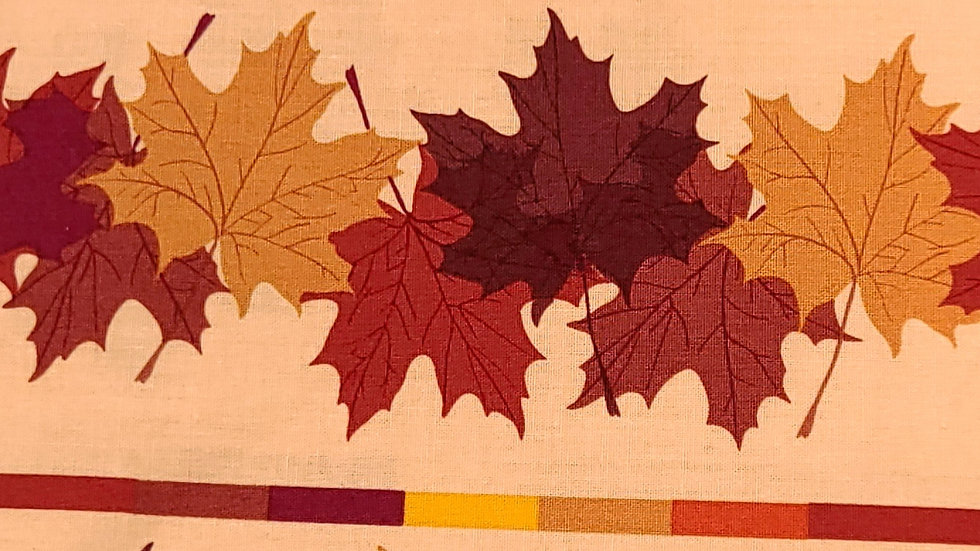 Fall Leaves Fabric by the Yard