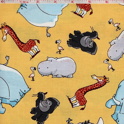 Tarzanimals Fabric by the Yard