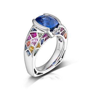 The Stained Glass Ring