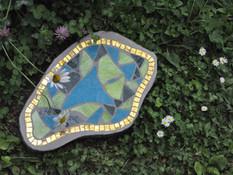 Trittplatte Im Garten