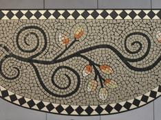 Sabine F.´s Mosaiktisch