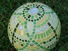 Sofie F.´s Mosaikkugel aus Kermaikfliesen