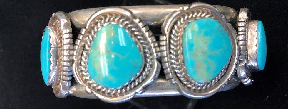 Sterling Ssilver Turquoise Bracelet