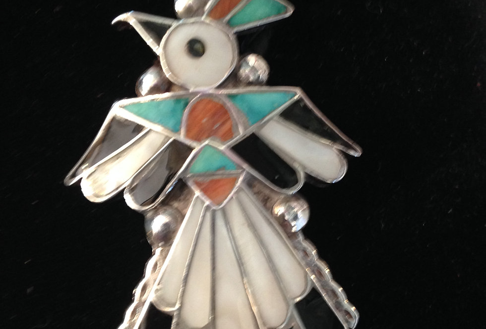 Thunderbird Inlay Bolo Tie