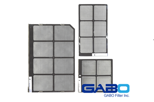 Gabo Filters S-BA994C3 set for BARCO DP4K-19B Part# R9863070