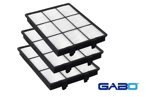 Gabo Filters S-SN991B3 replacement set for SONY model SRX-R320
