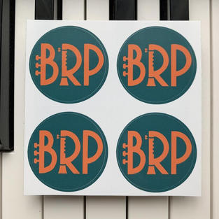 BRP Circular Sticker