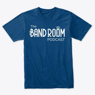 Band Room Podcast Tee Shirt