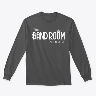 Band Room Podcast Long Sleeve Tee