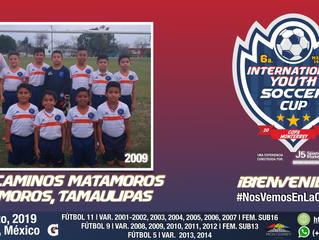 ¡Llega desde Matamoros, un gran equipo cat. 2009!