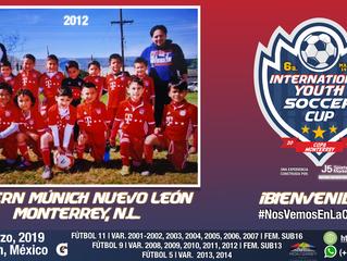 ¡Bienvenidos Bayern Munich NL 2012!