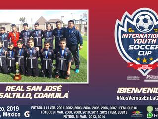 ¡Bienvenidos Real San José Saltillo 2005!