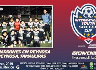 ¡Ellos son Cimarrones CM Reynosa y participarán en dos categorías!