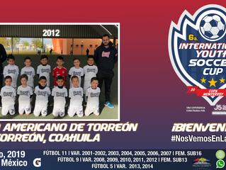 ¡Ellos son los actuales campeones 2012 de la Copa Santos Peñoles y estarán en nuestra competencia!