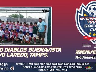 Nuevo Laredo, Tamaulipas, presente en nuestro evento con este gran equipo 2008.