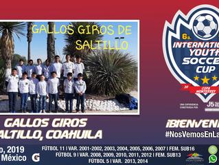 Llega desde Saltillo, Coahuila, Gallos Giros 2006, ¡bienvenidos!
