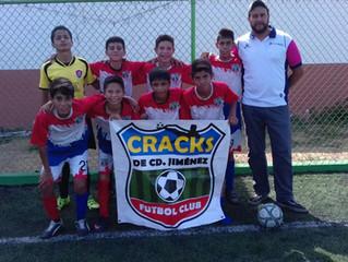 Desde Chihuahua, llega FC Cracks de Cd. Jiménez