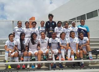 Desde Matamoros, Tamaulipas, llega un gran equipo femenil Sub-19