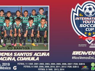 ¡Ellos son la Academia Santos Acuña y llegan a la competencia con 3 categorías!
