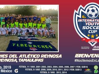 Un gran equipo 2003 llegará desde Reynosa, Tamaulipas a nuestra gran competencia...