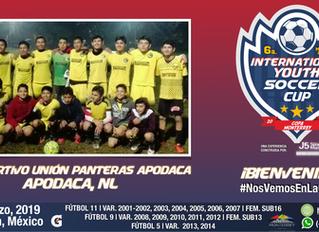 FC Deportivo Union Panteras Apodaca, ¡Bienvenidos!