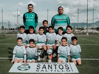 ¡Ellos son Academia Santos Saltillo y estarán presentes con 3 categorías!