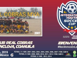 ¡Un gran y REAL equipo cat. 2007 llega desde Monclova, Coahuila!