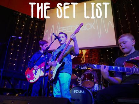 The Set List #4