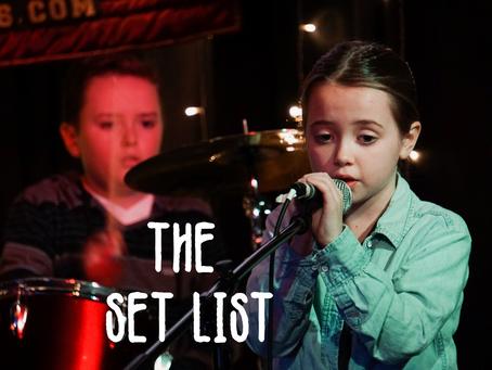 The Set List #1