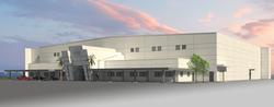 Jetscape - Hangar Rendering