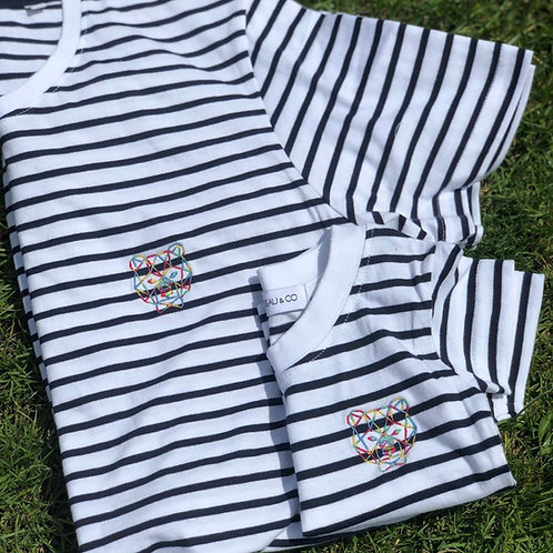 Adults Striped T-Shirt