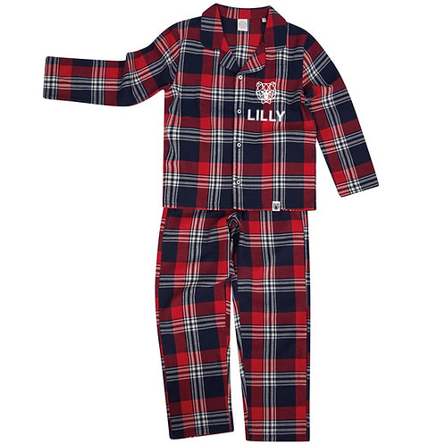 Tartan Kid's Pyjamas