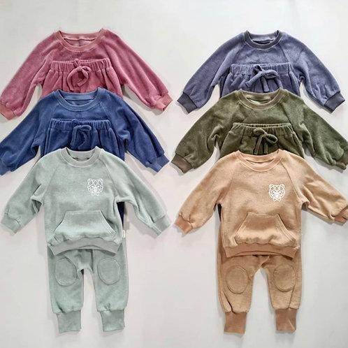 Kids Towelling Loungewear