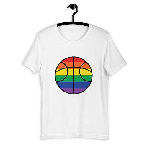 LGBTQ+ Basketball Rainbow T-Shirt