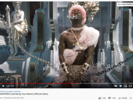 Proven - Lil Nas X Has Butt Plug Thrown at Him in Montero (Call Me By Your Name) Music Video