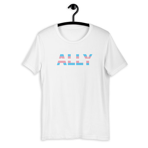 Trans Ally Flag Colours T-Shirt