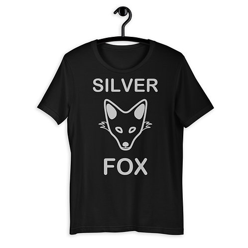 Silver Fox Mens T-Shirt