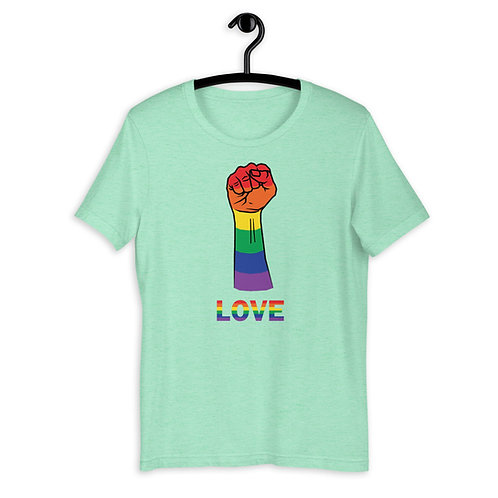 Power to LGBTQ+ Love T-Shirt
