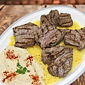 Steak Kabob/Shawarma plate