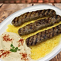 Ground Beef Kabob Plate