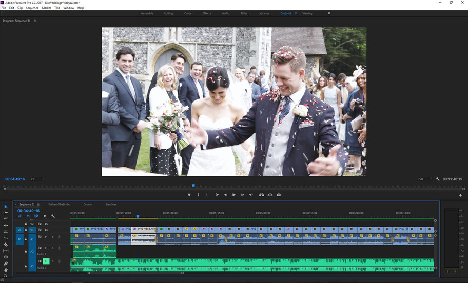Just colour correction to go before Vicky & Josh's snapshot is complete.